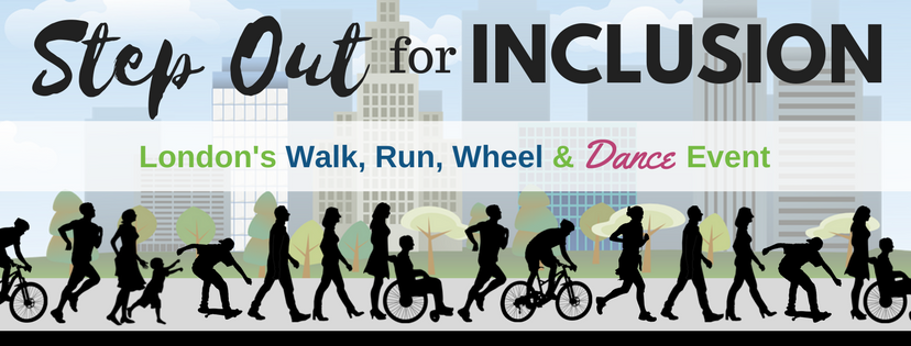 Step Out for Inclusion: London's Walk, Run, Wheel & Dance Event
