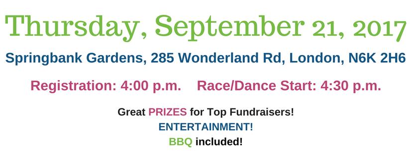 Thursday September 21 at 4:00pm at Springbank Gardens, 285 Wonderland Road